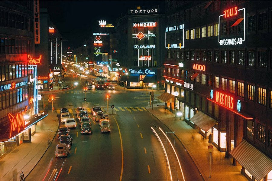 Transport in Stockholm in the 1960's (1)