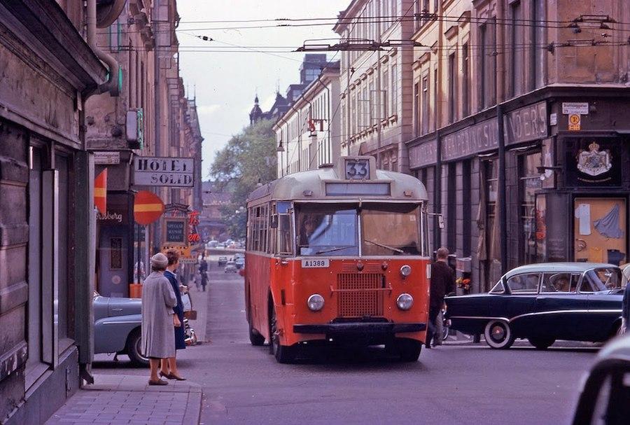 Transport in Stockholm in the 1960's (2)