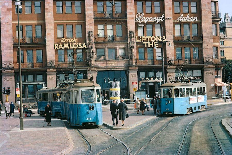 Transport in Stockholm in the 1960's (3)
