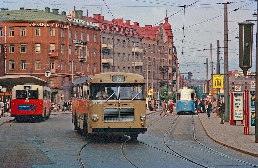 Transport in Stockholm in the 1960's (4)