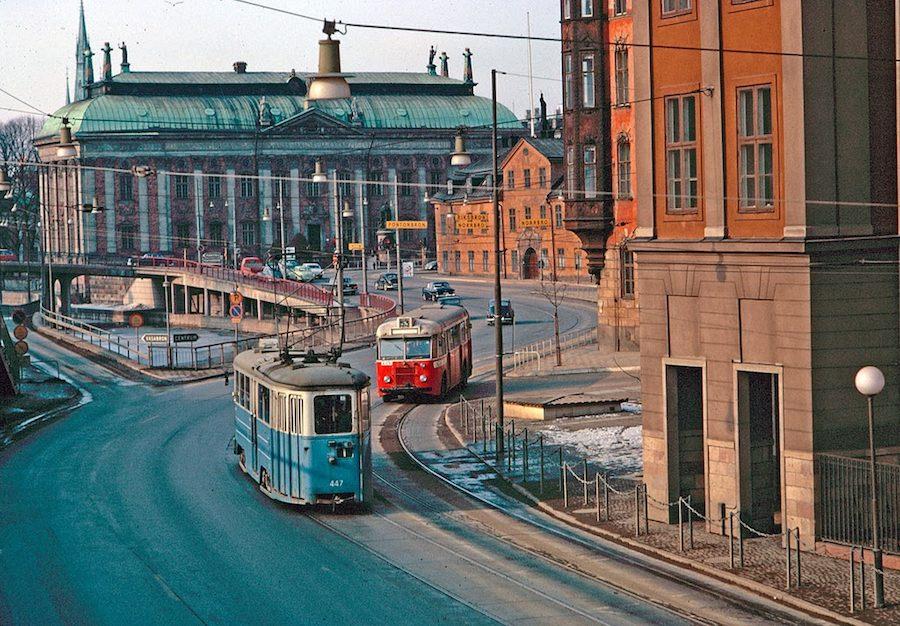 Transport in Stockholm in the 1960's (5)