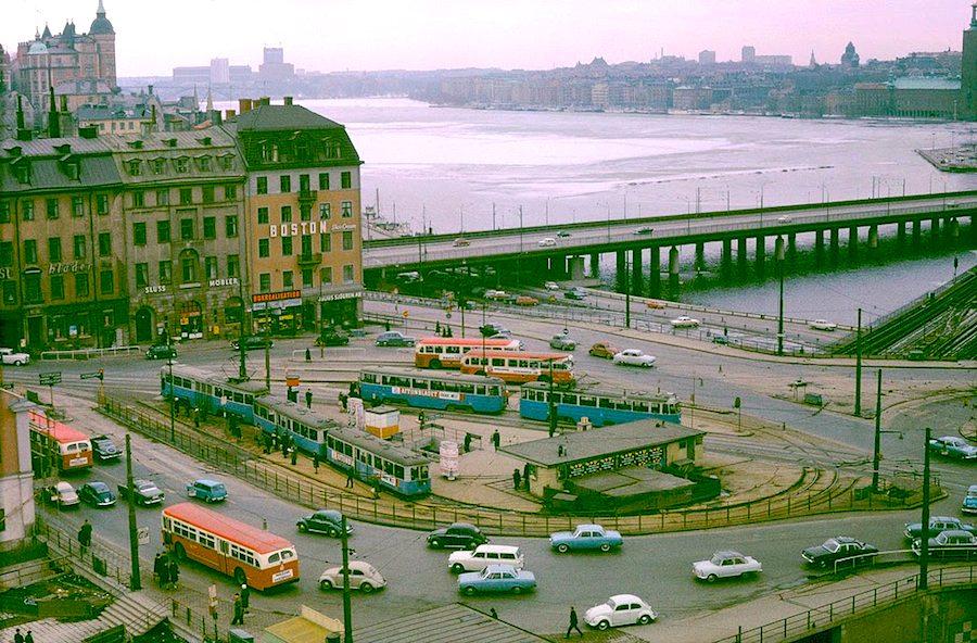 Transport in Stockholm in the 1960's (6)