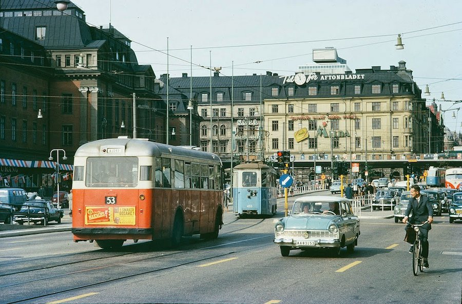 Transport in Stockholm in the 1960's (7)