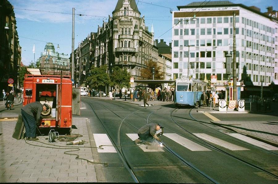 Transport in Stockholm in the 1960's (8)