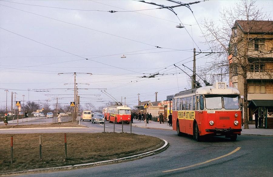 Transport in Stockholm in the 1960's (9)