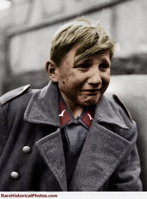 Hans-Georg Henke - 15 Year Old German Soldier 2