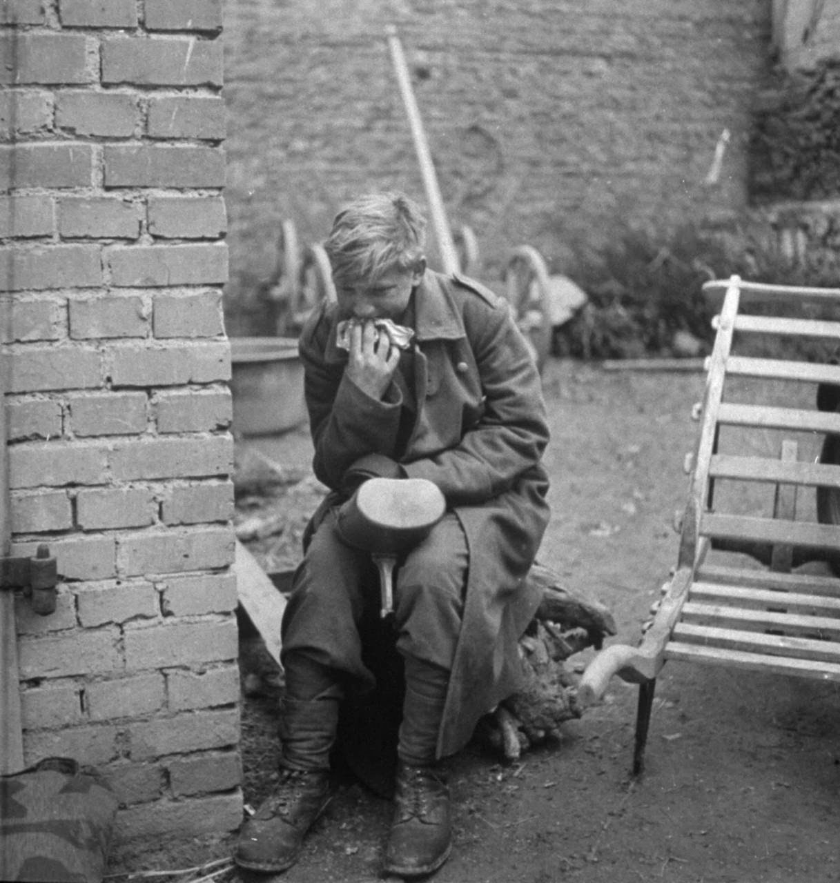 Hans-Georg Henke - 15 Year Old German Soldier 1