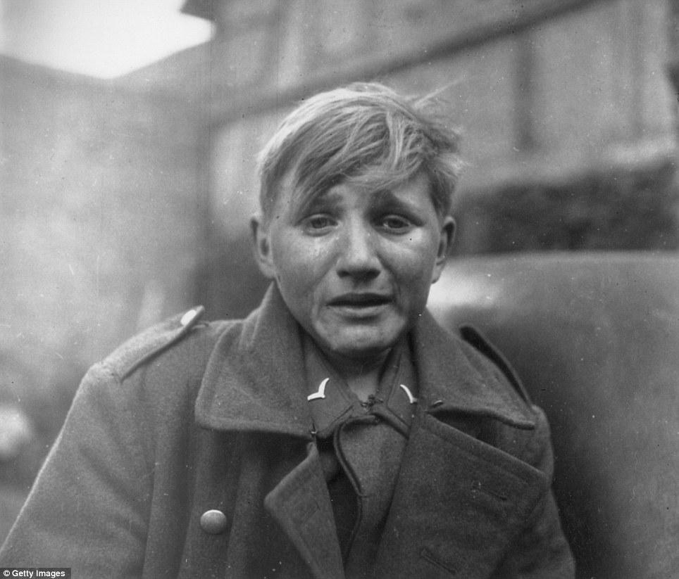 Hans-Georg Henke - 15 Year Old German Soldier