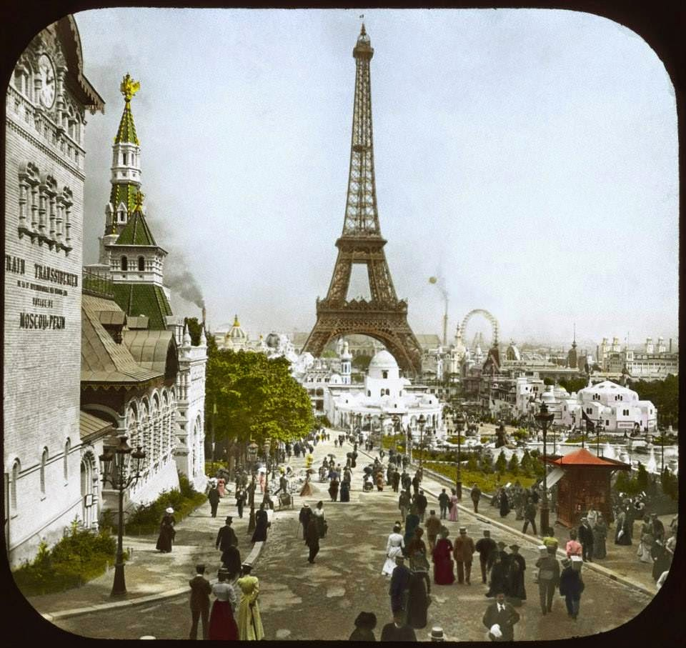 The 1900 Paris World's Fair in Color (16)