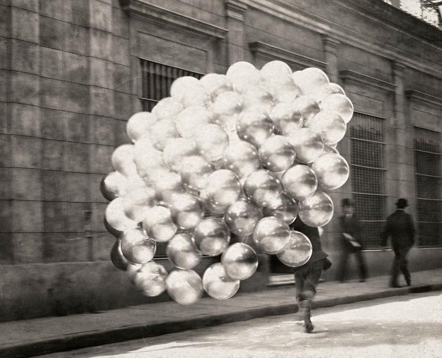 Balloons, Buenos Aires, Argentina, circa 1910