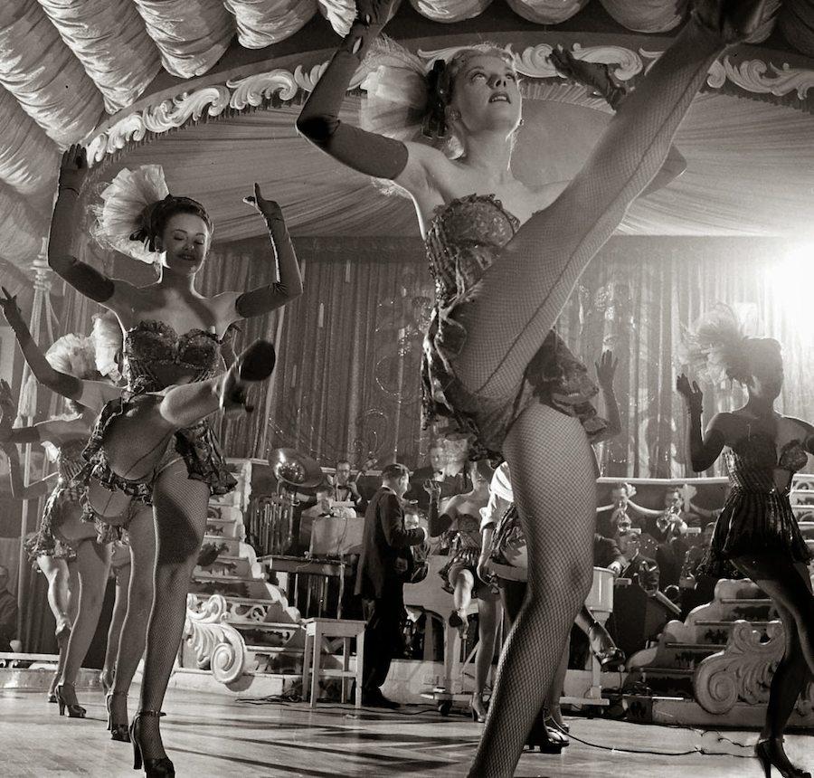 Chorus Girls at the Latin Quarter, New York, 1949 (3)