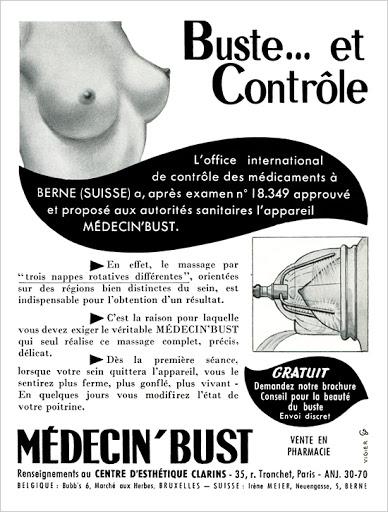 MEDECIN' BUST 55A (1955)
