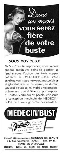 MEDECIN'BUST 52A (1952) Guérir 11-8