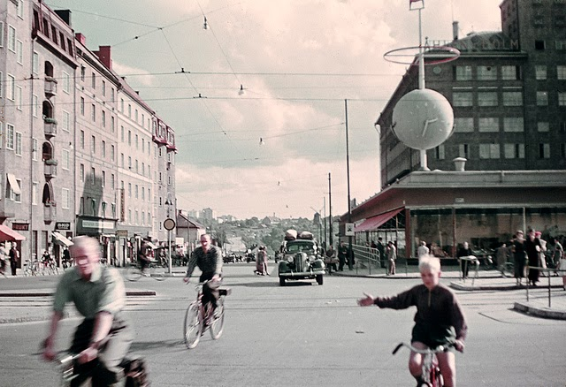 Sweden in the 1940s and early 1950s (1)