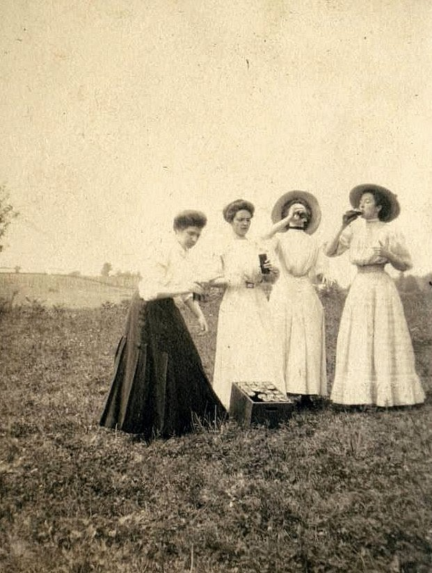 Teachers on Spring Break, ca. 1910