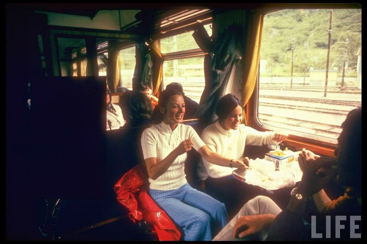 Eurailpass in Europe in the Summer of 1970 (11)