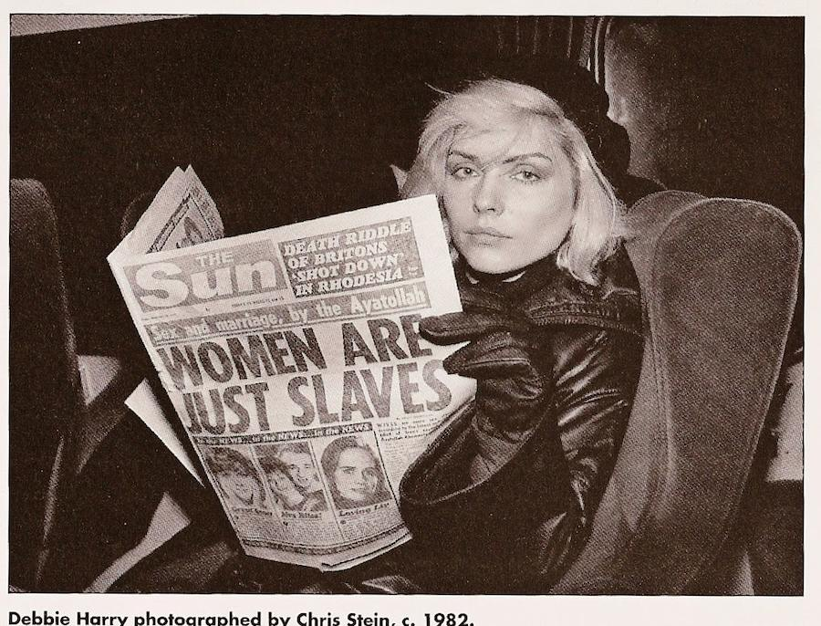 Women are Just Slaves – Debbie Harry photographed by Chris Stein, c.1982