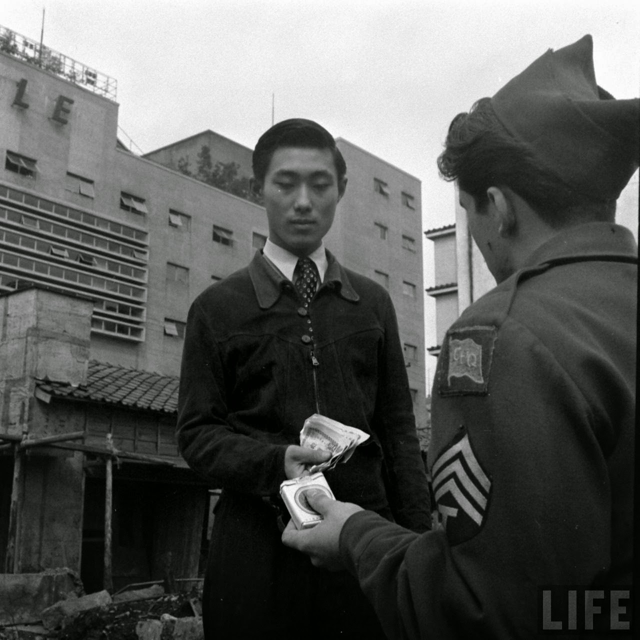 Black Market in Japan in 1946 (5)