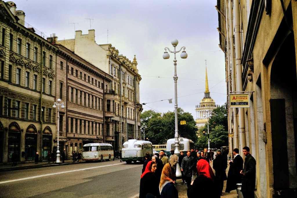 Leningrad, USSR of 1968 (8)