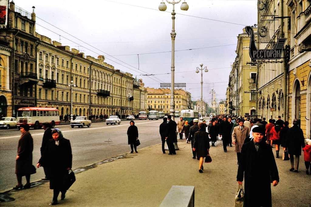 Leningrad, USSR of 1968 (1)