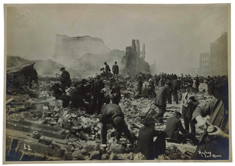 Сан-Франциско за 4 дня до землетрясения и пожара 1906 года: 4К ... | 638x900