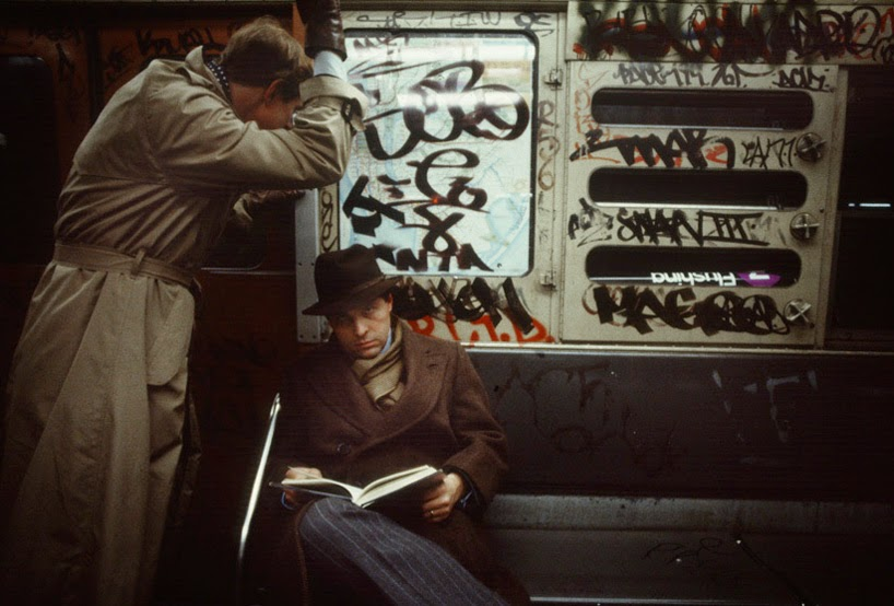 New York's Subway in 1981 - Christopher Morris (5)