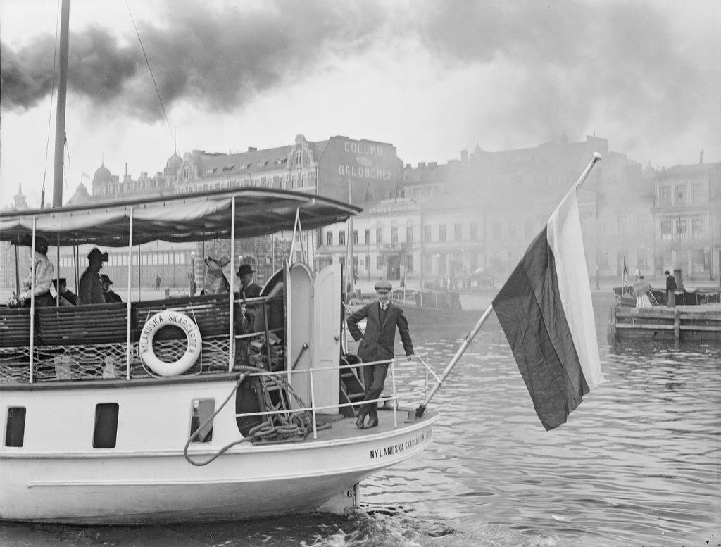 Street Scenes of Helsinki, Finland, ca. 1900s (9)