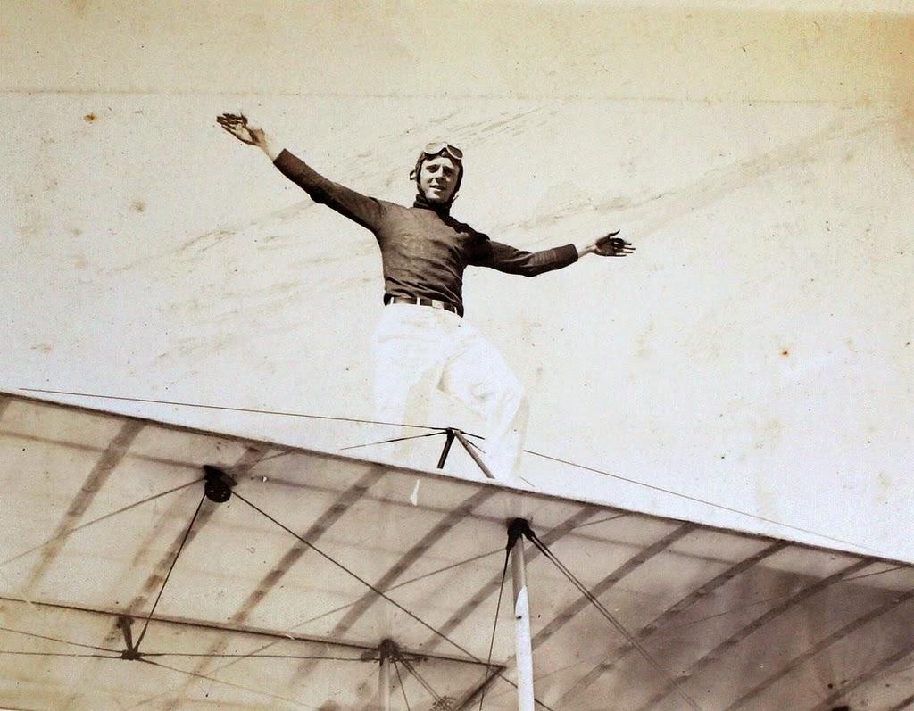 Wing Walking Men, ca. 1920s (1)