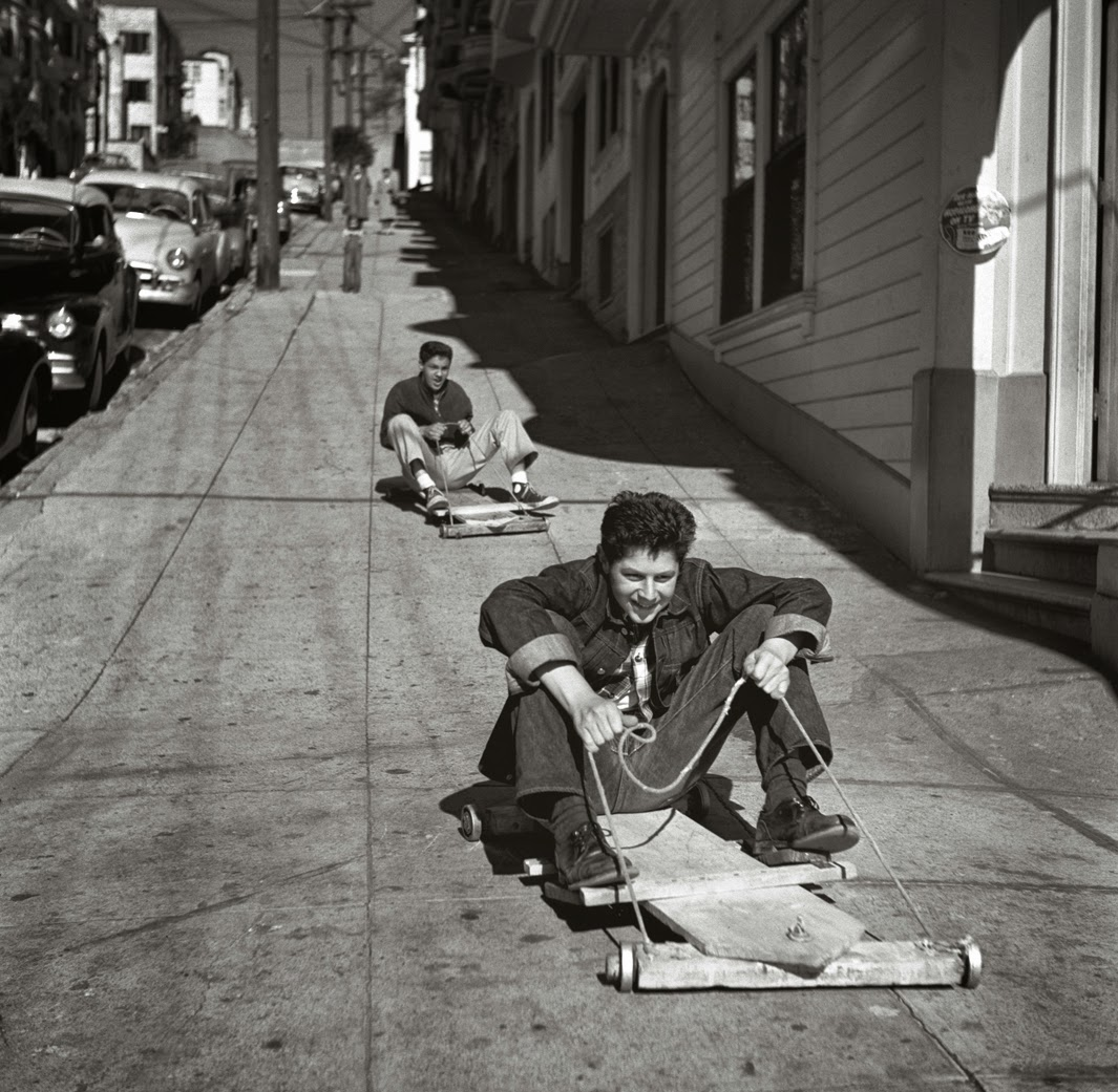 San Francisco in the 1940s-60s by Fred Lyon (1)