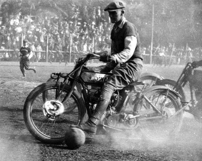 Motorcycle Polo, circa 1919