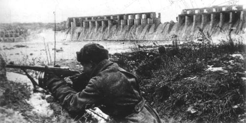Zaporizhia Combat  Бой у плотины 1943