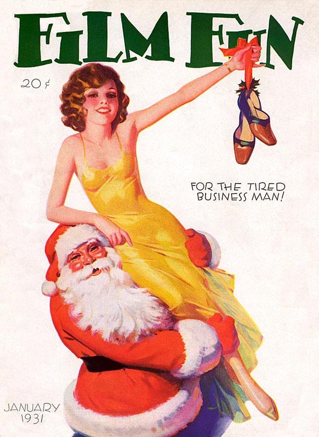 2267398 original Рождественский пин ап
