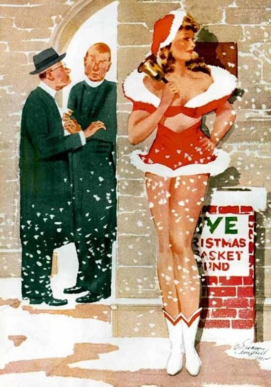 2268811 original Рождественский пин ап