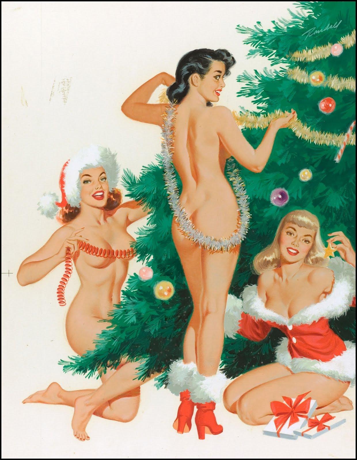 2270920 original Рождественский пин ап