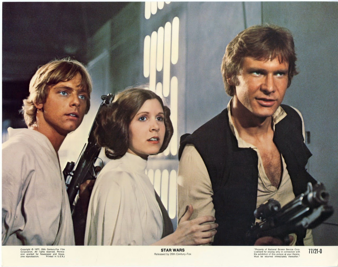 """Star Wars"" Lobby Card Set, 1977 (1)"