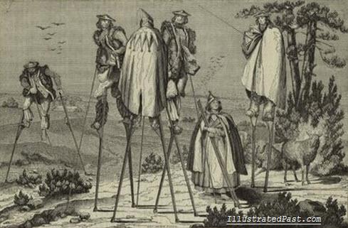 landes-stilt-walkers