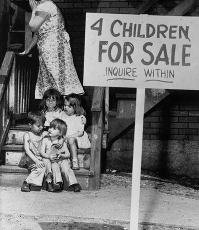 Дети на продажу, Чикаго, 1948 dGMSD7y
