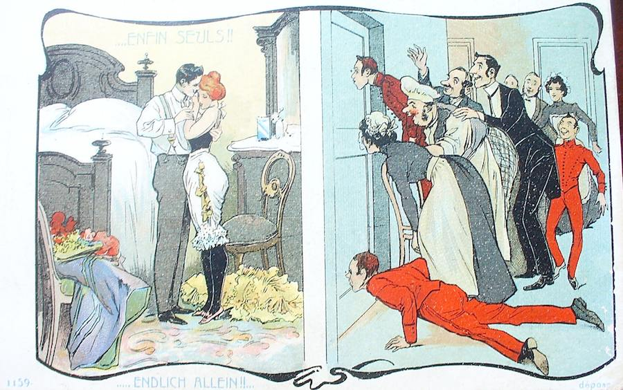 секс в замочной скважине