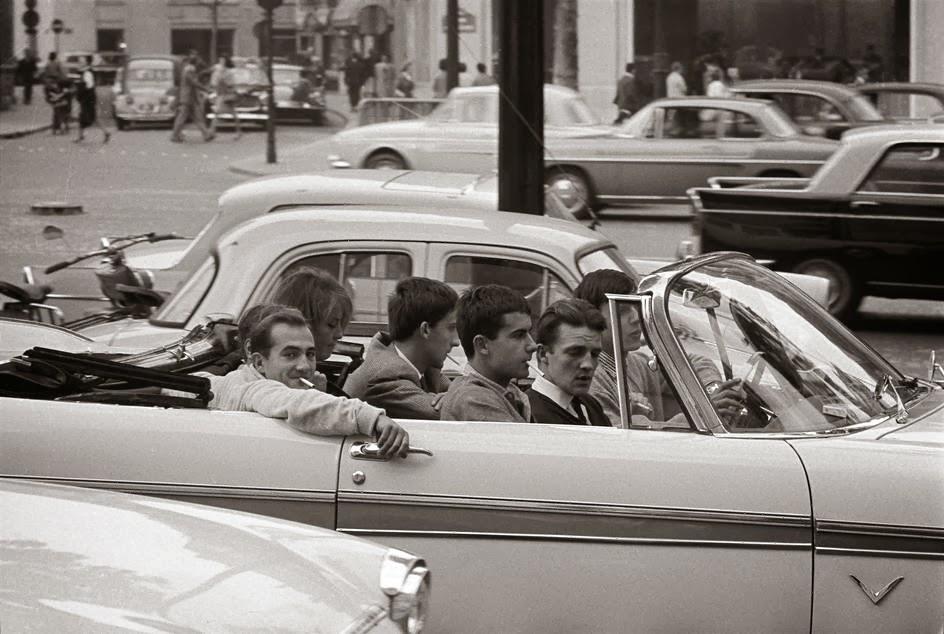 Paris 1962 Photo Rene Burri