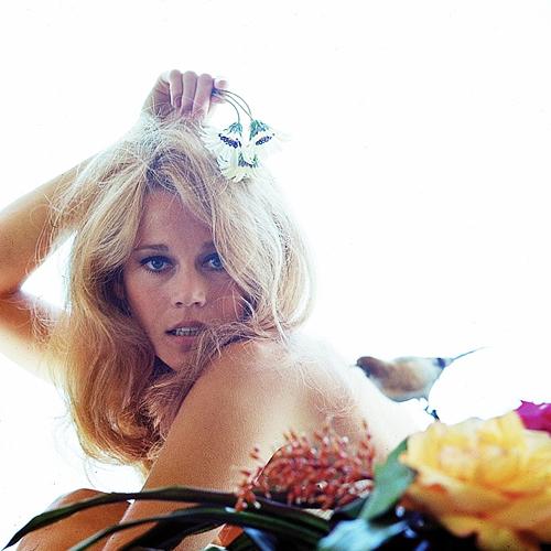 Jane Fonda photographed by Milton Greene, 1960s (4)
