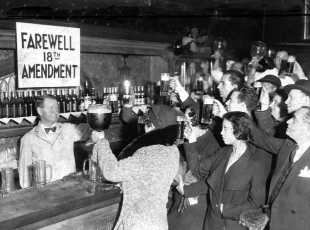 a history of liquor prohibition at the beginning of 20th century in the united states
