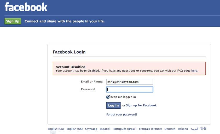 Более 11 млн пользователей из Великобритании и США удалили свои аккаунты в Facebook