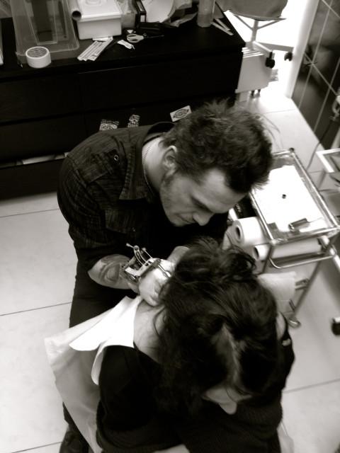 Алена Водонаева сделала татуировку