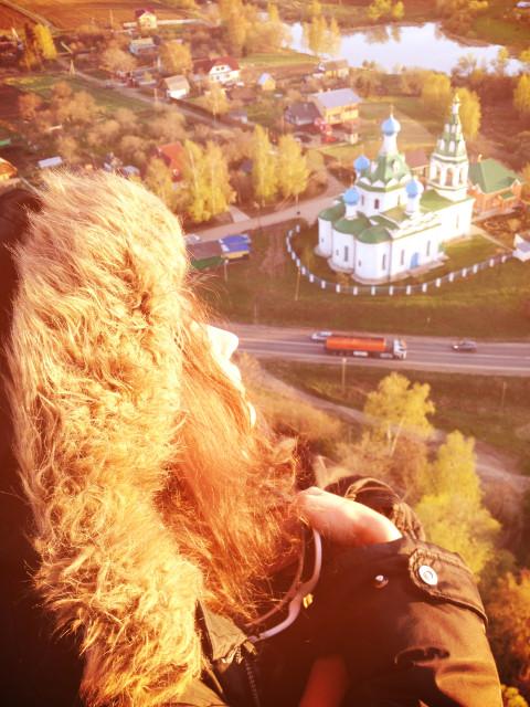 Алену Водонаеву запустили в небо