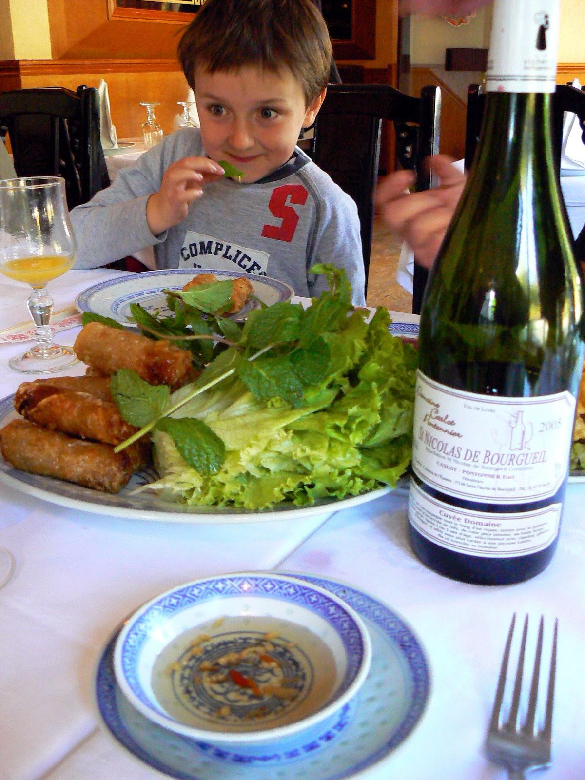 Китайский ресторан. Париж