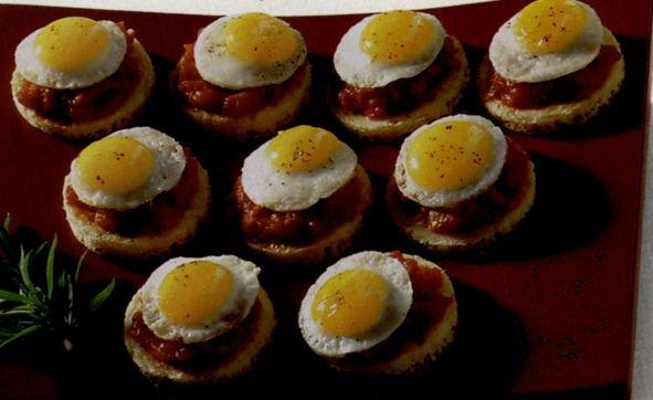 """Яйца """"верхом"""""""