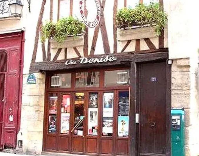 Парижский ресторан Ches Denise