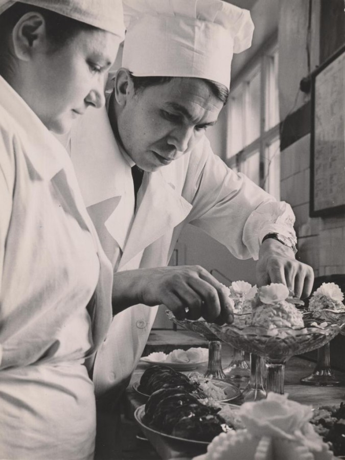 Али Бабиков. Ресторан Метрополь.
