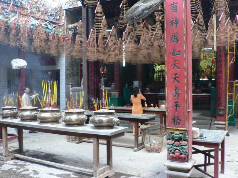 Сайгон. Храм.