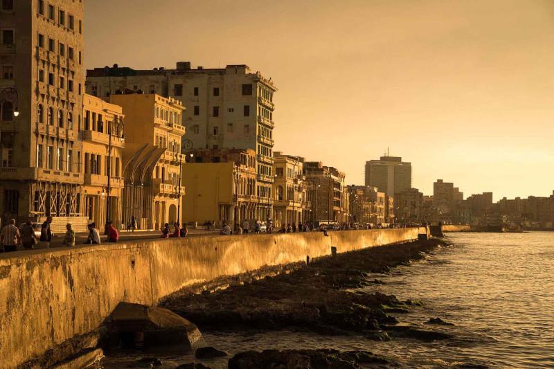 Набережная Малекон. Гавана